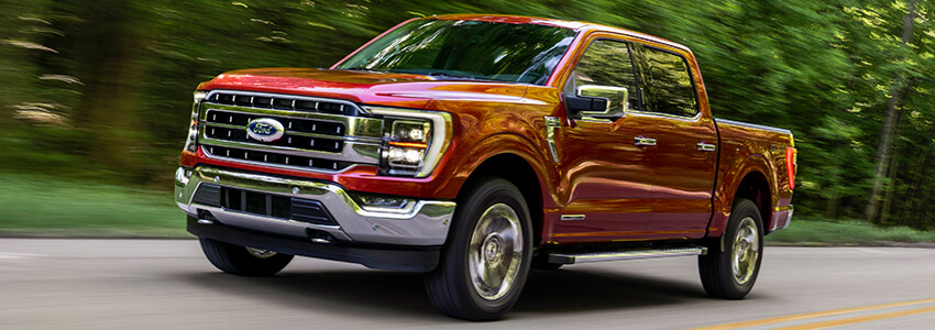 2021 Ford F-150 Rolling On Road