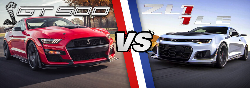 GT500 vs ZL1 1LE Header