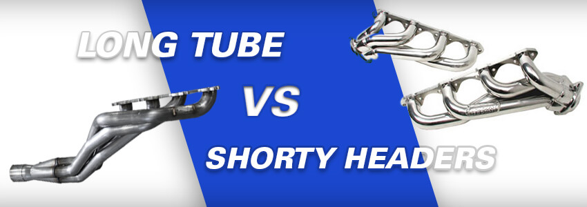 Mustang Long Tube vs Shorty Headers Exhaust