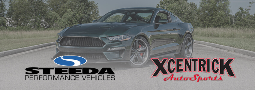 Steeda Performance Vehicles and Xcentrick Auto Sports Announce Partnership