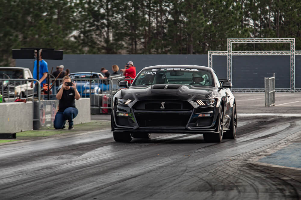2020 Shelby GT500 Drag Racing
