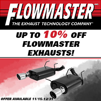 Flowmaster - Up to 10% off select exhausts
