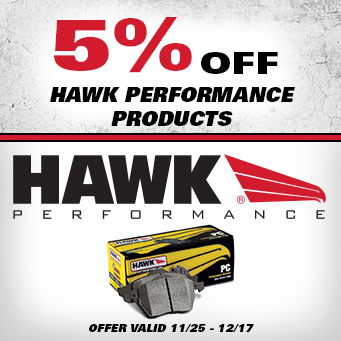 Hawk Performance  - 5% Off All performance pads
