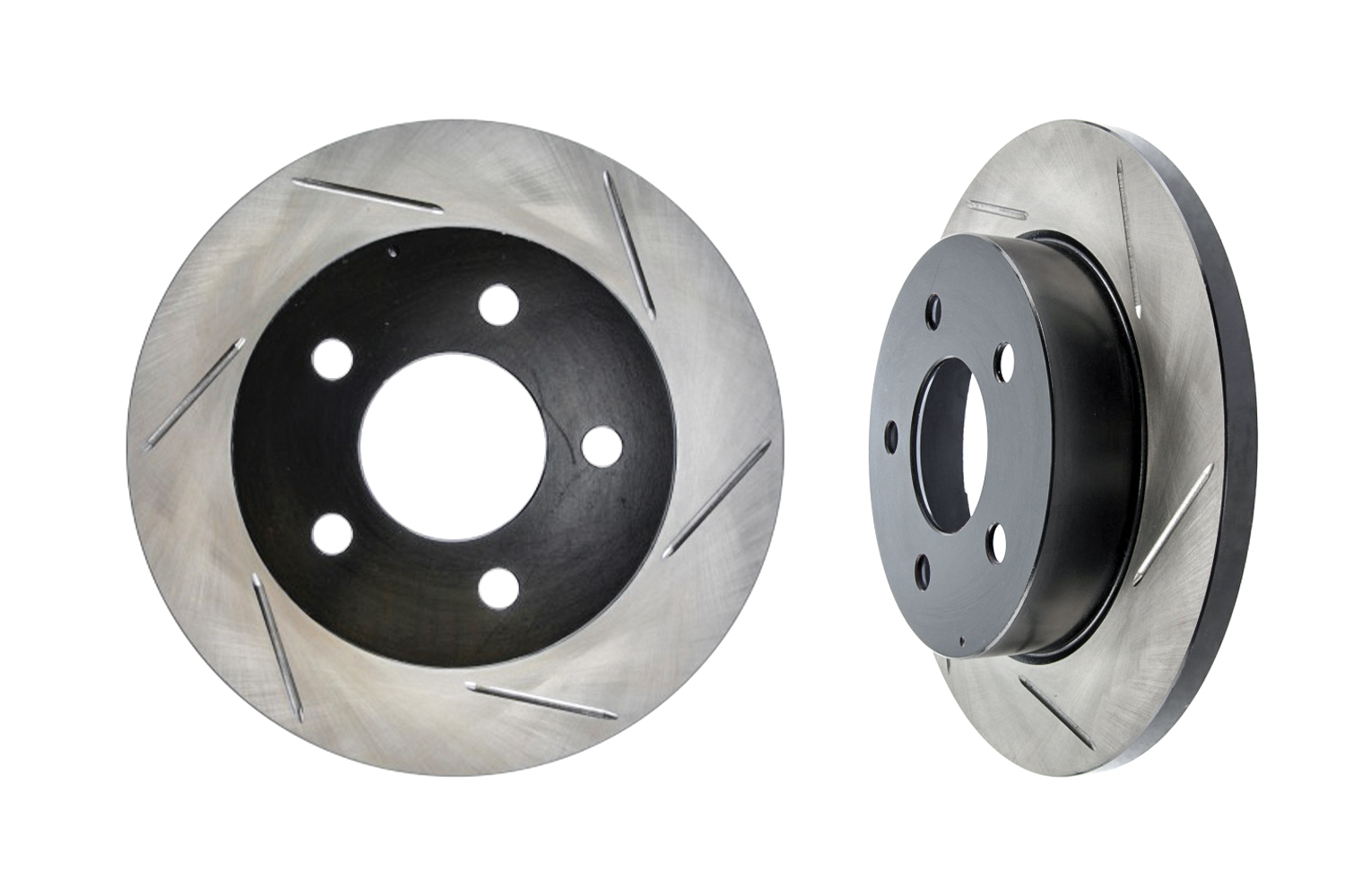 StopTech Mustang GT Slotted Front Rotors (1994-2004)