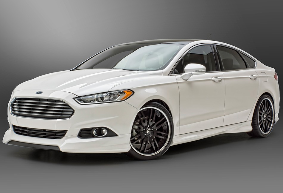 3D Carbon 4 Piece Ford Fusion Body Kit - 13-14