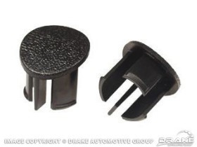 Drake Mustang Arm Rest Plugs Passenger Side - Available in Multiple Colors (1987-1993)