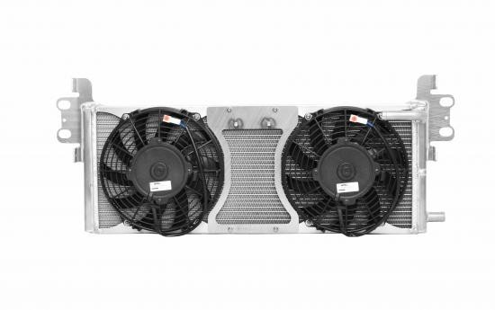 C&R Mustang Heat Exchanger Module With Fans (05-14)