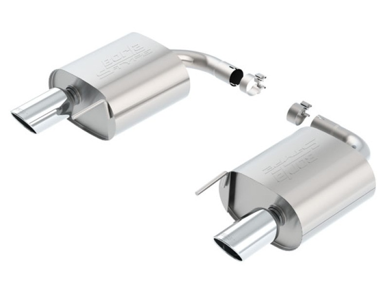 Borla Mustang Ecoboost S-Type Axle-Back Exhaust (2015-2021)