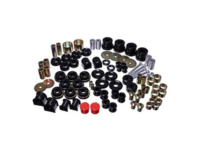 Energy Suspension Mustang Hyper-Flex Master Bushing Set Black (2015-2020)