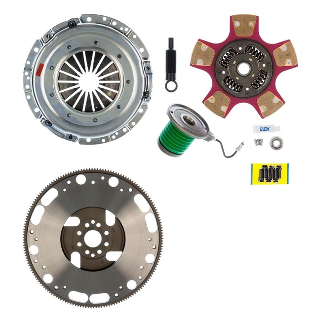 EXEDY MACH 700 Racing Stage 2 Cerametallic Clutch Kit, Paddle Style Disc, 8 Bolt Mustang (2007-2011, GT500)
