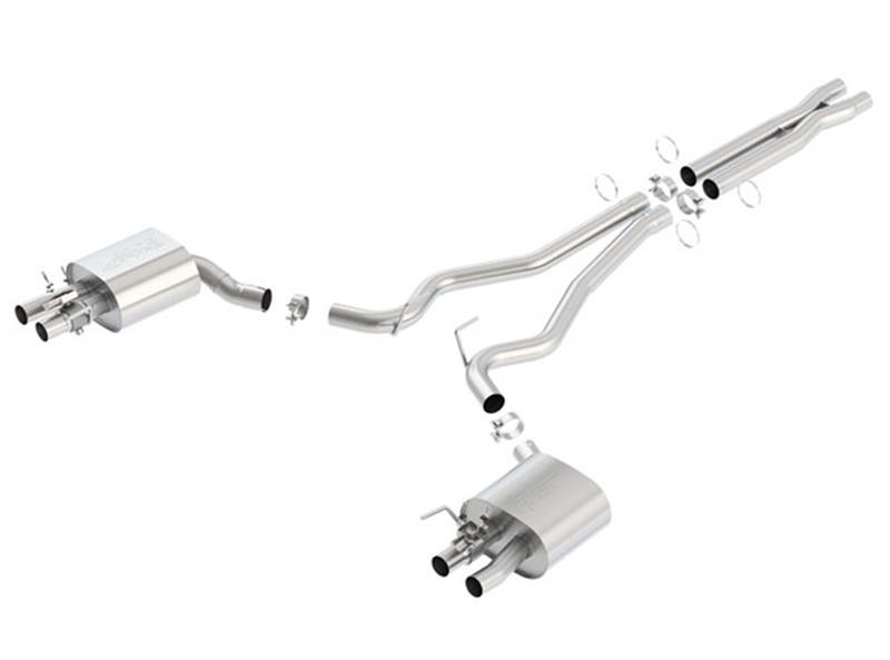 Borla Mustang GT350 ATAK Cat-Back Exhaust (2015-2019)