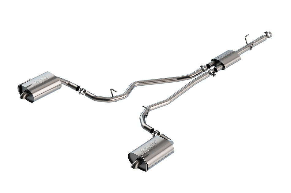 Borla Explorer XLT S-Type Cat-Back Exhaust (2020)