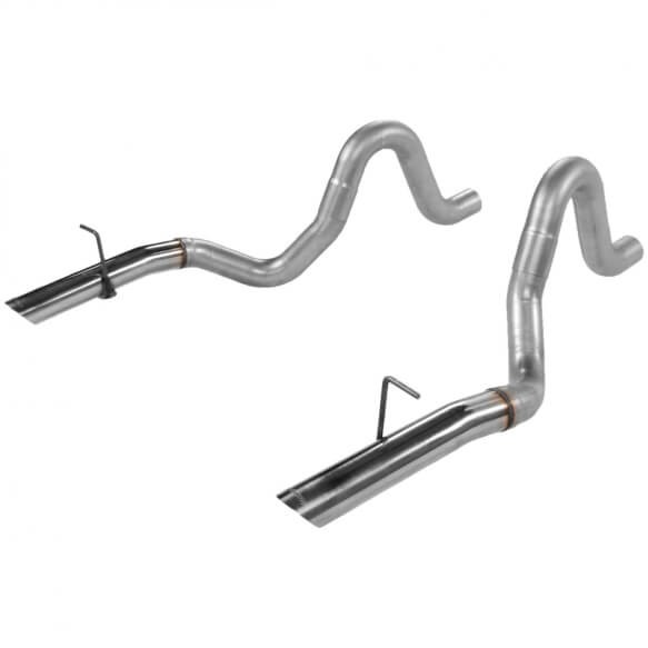 Flowmaster Mustang Pre-bent Exhaust Tailpipes - 3