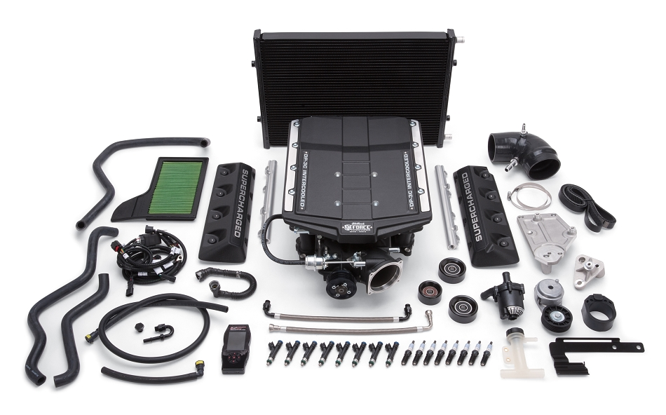 Edelbrock S550 5.0L Coyote Mustang GT E-Force Stage 1 Street Supercharger Complete Kit (2015-2017)