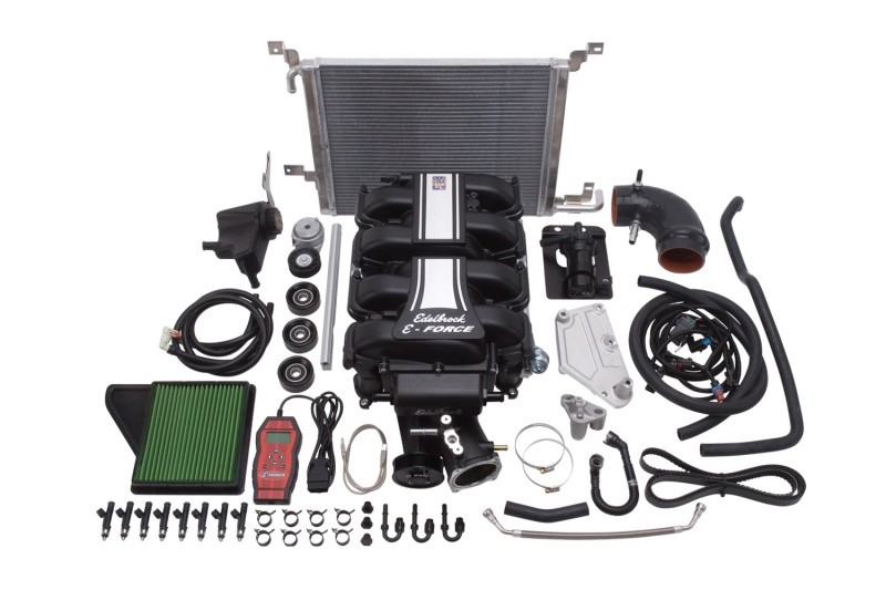 Edelbrock Mustang GT E-Force Stage 1 Supercharger Kit (2011-2014)