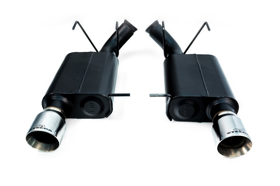 Steeda S197 Mustang GT Axle-Back Exhaust (2011-2012)