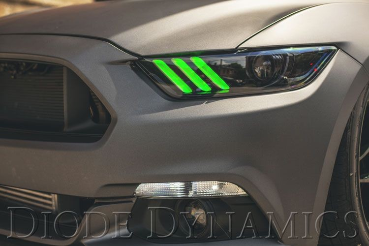 Diode Dynamics Ford Mustang Multicolor DRL LED Boards (2015-2017)