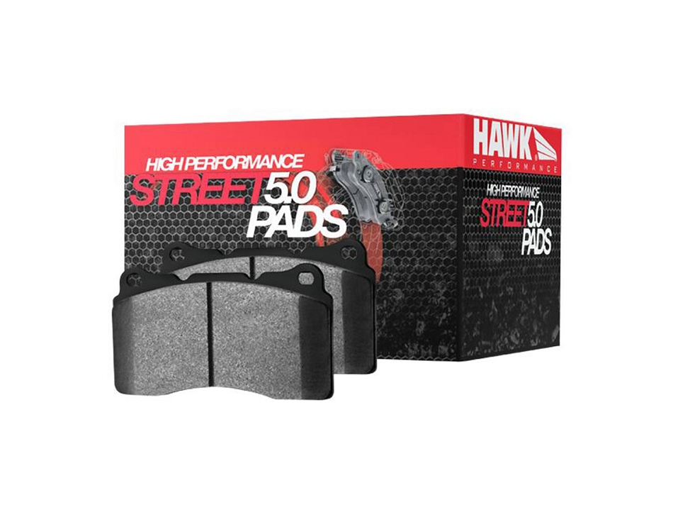 Hawk Mustang HPS 5.0 Rear Brake Pad Set (15-17 EcoBoost/GT)