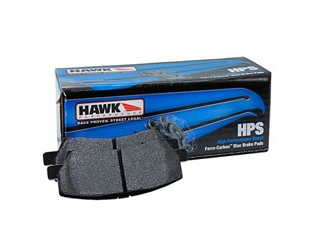 Hawk Mustang HPS Rear Brake Pad Set (15-17 EcoBoost/GT)