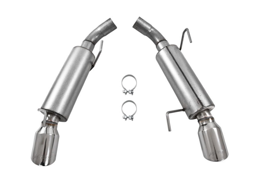 MBRP Mustang GT Installer Series Axle-Back Exhaust (2005-2010)