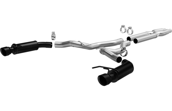 Magnaflow Mustang GT Black Series Competition Cat-Back Exhaust (2015-2017)