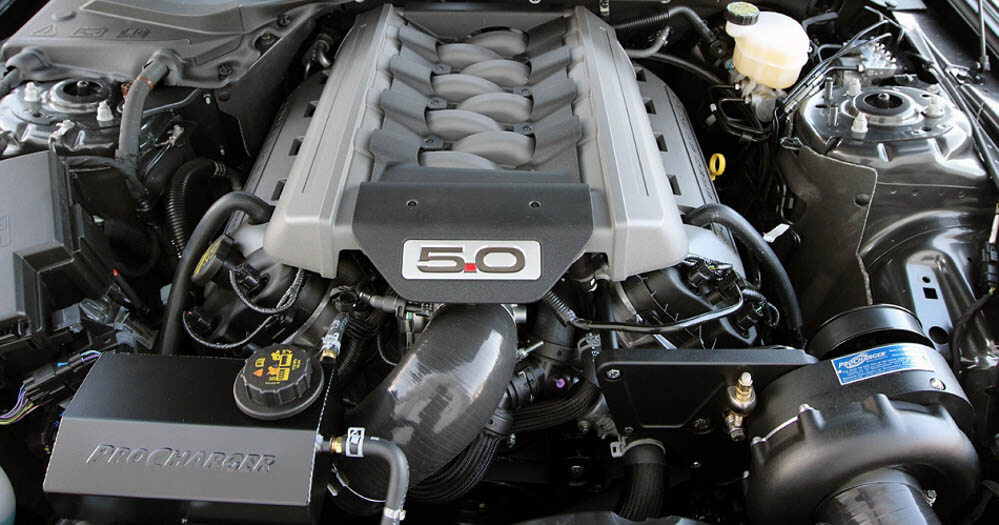 ProCharger S550 Mustang GT 5.0L 4V Stage II Intercooled Supercharger System P-1SC-1 (2015-2017)