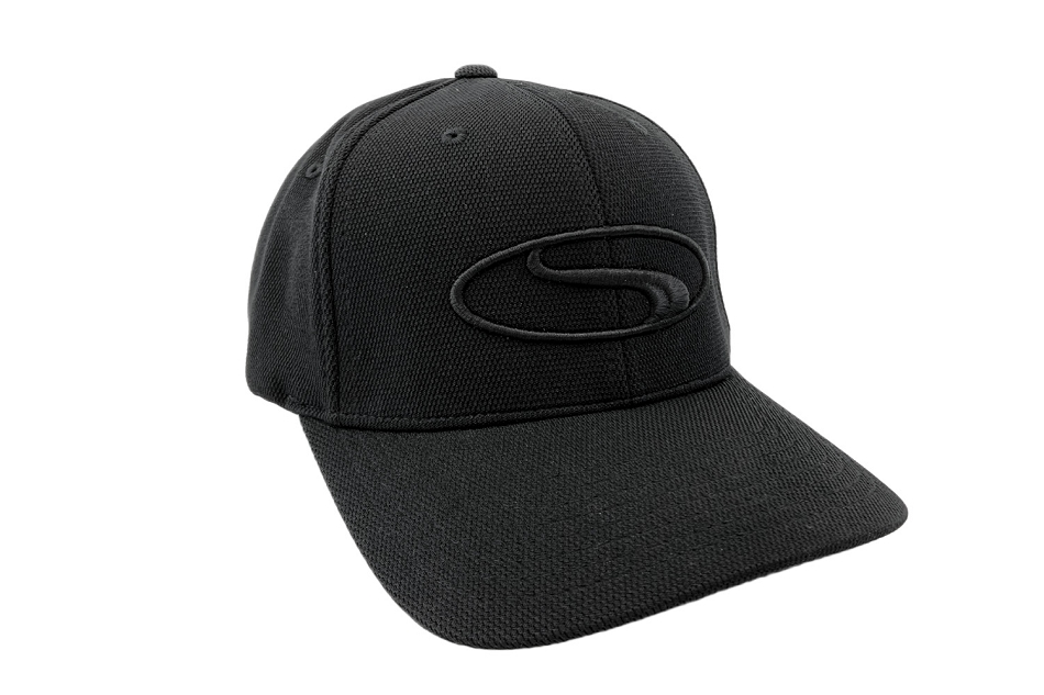Steeda Black on Black Flexfit Hat