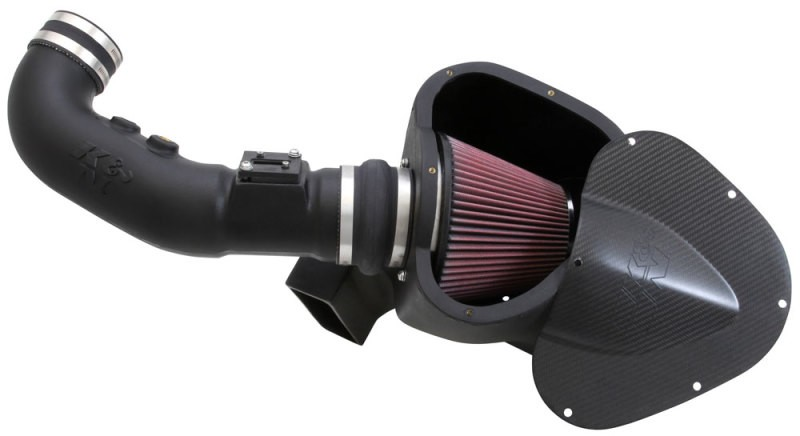 K&N Mustang GT Aircharger Cold Air Intake Kit (11-12)