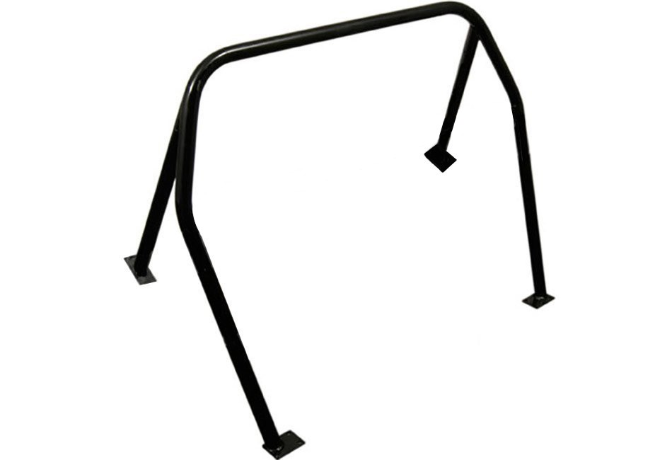 Kirk Racing Mustang 4-Point Bolt-In Roll Bar - Hatchback (79-93)