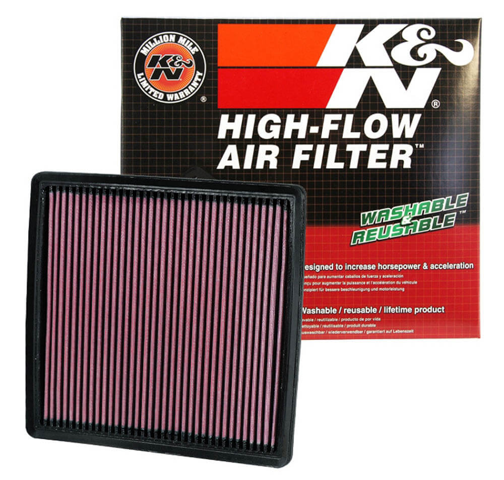 K&N F-150/F-250/F-350/Raptor Drop-In  Panel Air Filter (2008-2020)