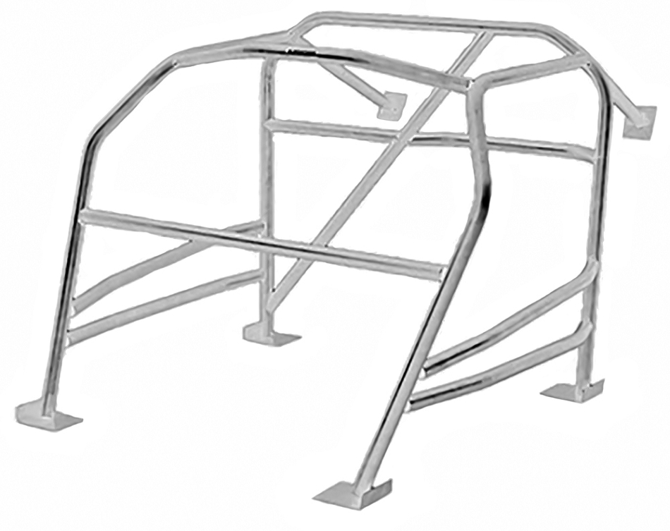 Autopower Mustang 6-Point Weld-In Full Roll Cage (2015-2020)