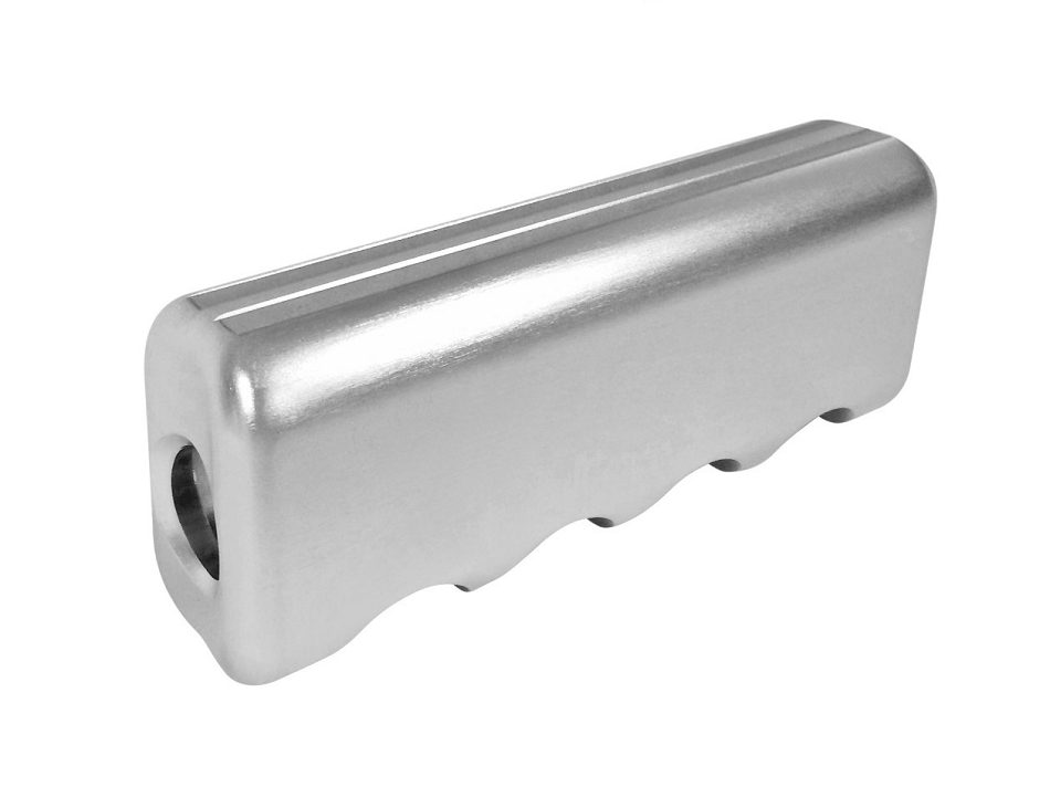 Scott Drake Mustang E-Brake Handle Cover Billet Aluminum (2015-2020)