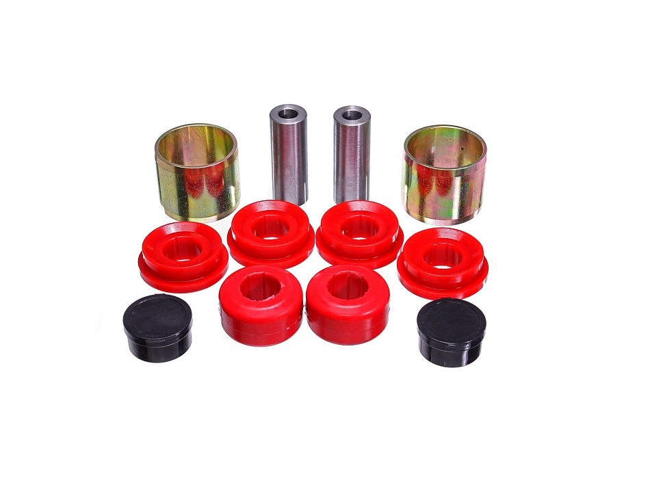 Energy Suspension Mustang Front Control Arm Bushing Set Red/Black (2015-2020)