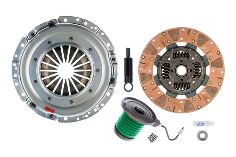 EXEDY Mach 600 Racing Stage 2 Cerametallic Clutch Kit, ,Cushion Button, 26 Spline Mustang (2005-2010)