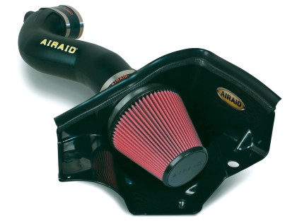 Airaid Mustang GT Cold Air Intake SynthaFlow MPX Red Oiled Filter (2005-2009)