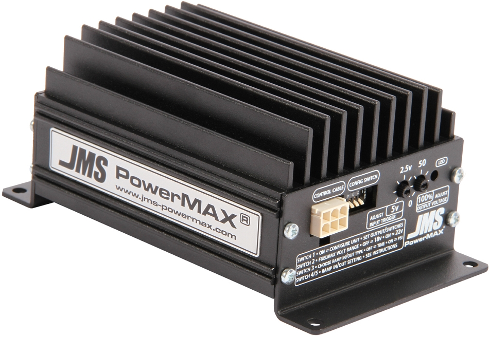 JMS PowerMAX V2 FuelMAX  (Single) Fuel Pump Voltage Booster (2015+)