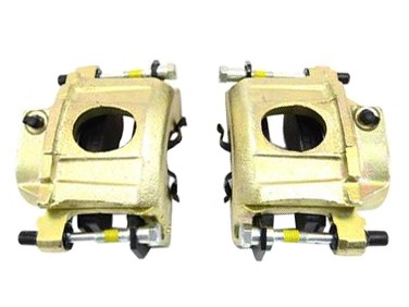 Centric Mustang Front Brake Caliper Pair (84-86 SVO / 87-93 5.0)