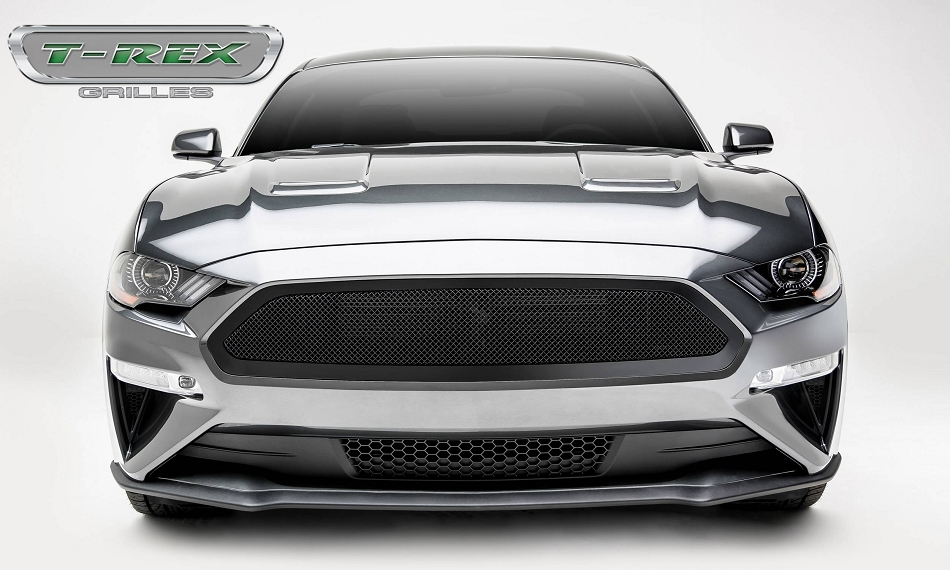 T-Rex Grilles Mustang GT - Upper Class Series - Main Grille, Insert Black Powder Coated Finish (2018-2020)