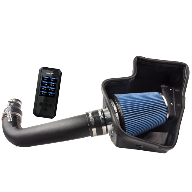 Steeda ProFlow Mustang EcoBoost Ultimate Induction Power Pack w/ SCT BDX (2015-2019)