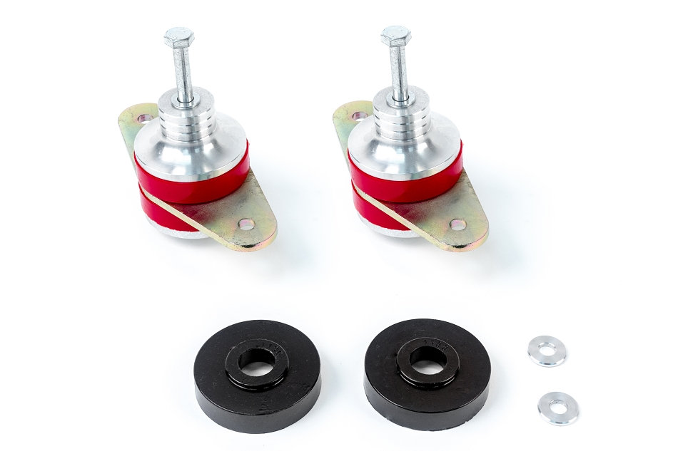 Steeda Mustang Adjustable Heavy Duty S550 5.0L / 5.2L Engine Mounts  GT, GT350 (2015-2020)