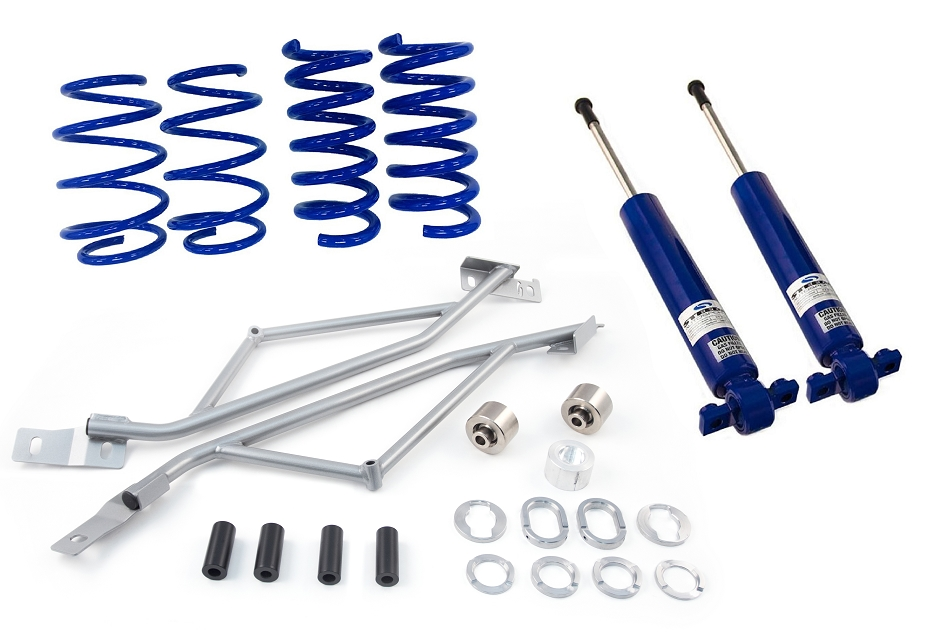 Steeda S550 Mustang Stage 1 Drag Pack  EcoBoost/V6/GT Suspension Kit (2015-2020)