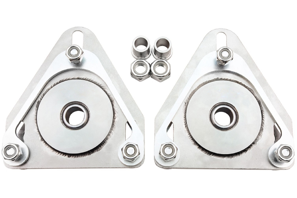 Steeda Mustang Upper Strut Mount Camber Plates Kit for Coilovers (2015-2020)