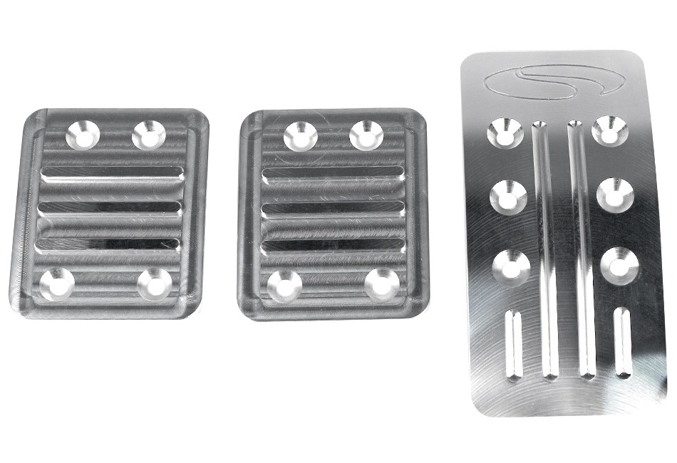 Steeda Focus ST/RS Premium Aluminum Pedal Kit (2013-2018)