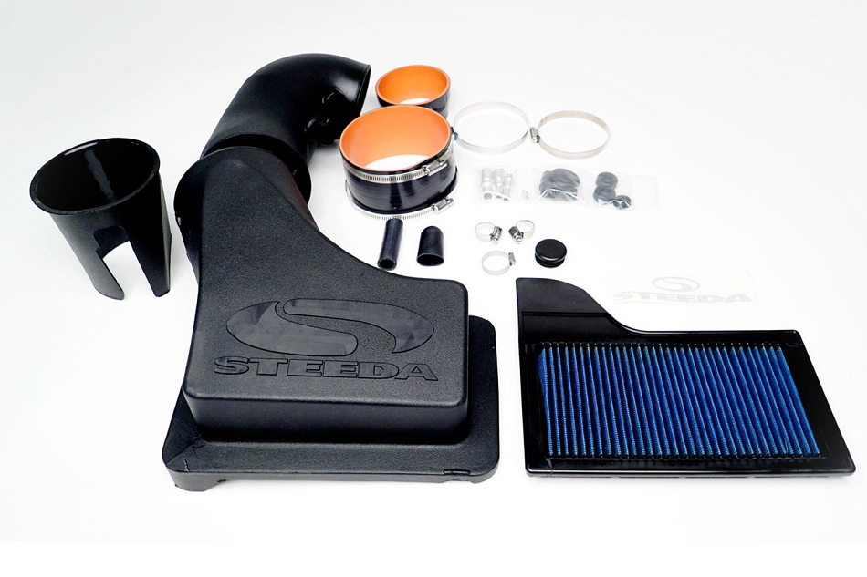 Steeda S550 Mustang GT ProFlow Closed Cold Air Intake 5.0L (2015-2020)