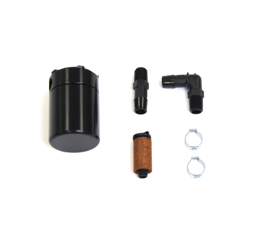 Steeda Explorer Black Billet Explorer Sport Oil Separator (2013-2019)