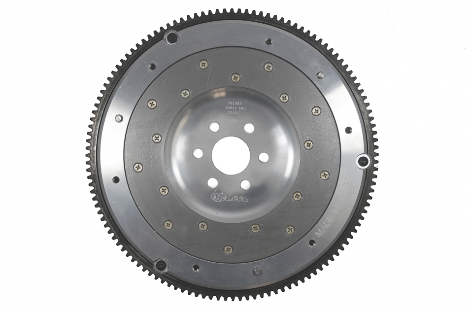 McLeod Mustang V8 Aluminum Flywheel 6 Bolt 28oz and 50oz - 157 Tooth (1986-1995)