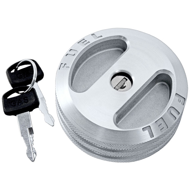 Scott Drake Mustang Locking Gas Cap Billet (05-09)
