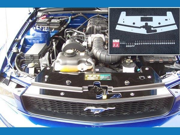 Scott Drake Mustang Stainless Steel Under Hood Dress Up Kit (05-09)