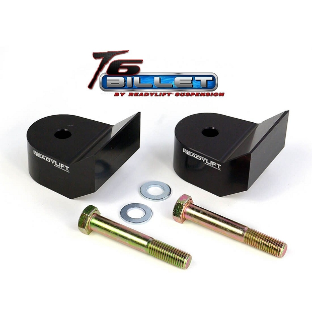 ReadyLIFT® 1.5'' Leveling Kit T6 Billet Black (05-17 4WD F-250/F-350 Super Duty)