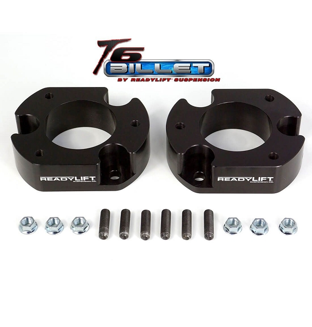 ReadyLIFT® F-150 2.5'' Leveling Kit T6 Billet Black (2WD 04-14 / 4WD 04-08)
